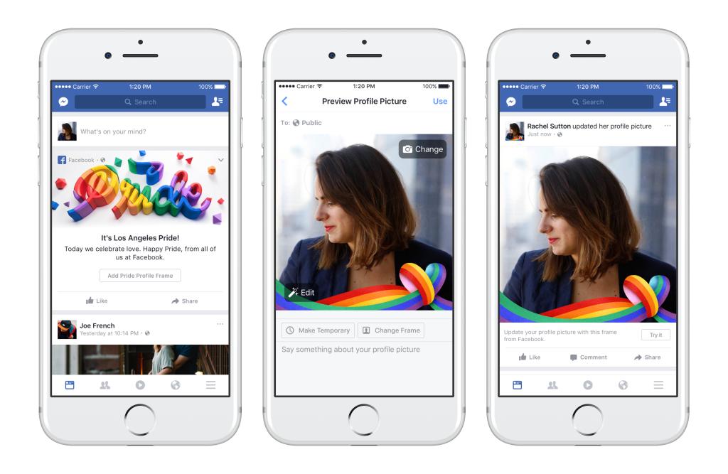 facebook pride frame