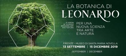 La Botanica di Leonardo - Mostra Firenze - Aboca - 2019